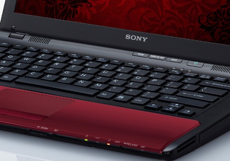 Sony VAIO CW Series Notebook fiery red