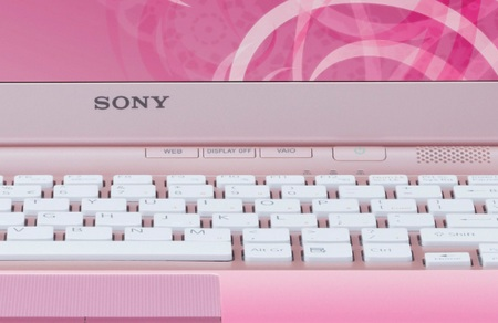 Sony VAIO CW Series Notebook poppy pink