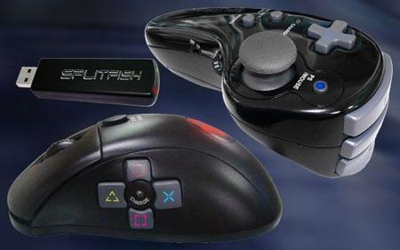 SplitFish DUAL SFX FRAG PRO Wireless Controller Combo