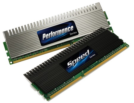 Super Talent 4GB dual channel DDR3 kits for Intel P55 i5 i7 Systems