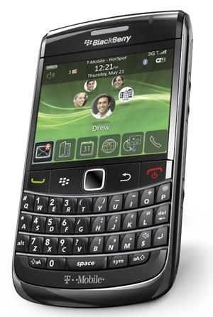 T-Mobile BlackBerry Bold 2 Onyx 9700