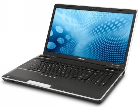 Toshiba Satellite P500-series notebook
