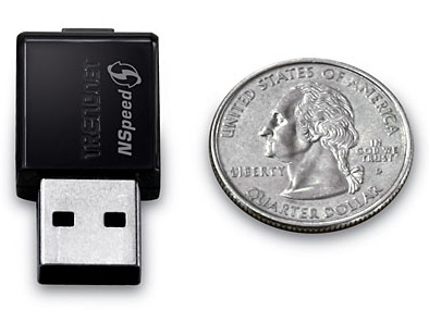 TrendNet TEW-649UB Tiny Wireless-N USB Adapter with MIMO
