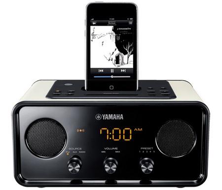 Yamaha TSX-70 ipod speaker dock beige