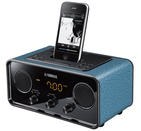 Yamaha TSX-70 ipod speaker dock blue