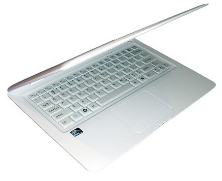 iiView A2 Slim Atom Netbook half open
