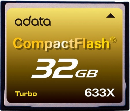 A-DATA CF633X Turbo Speed CF Card
