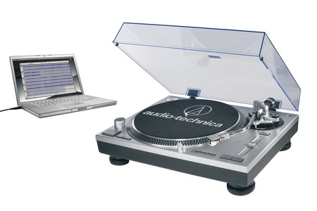 Audio-Technica AT-LP120-USB Direct-Drive Professional Turntable System