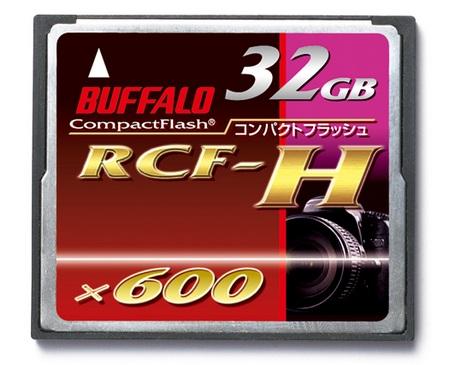 Buffalo RCF-H32G 600X 32GB CF Card