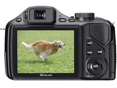 Casio EXILIM EX-FH25 20x zoom camera back