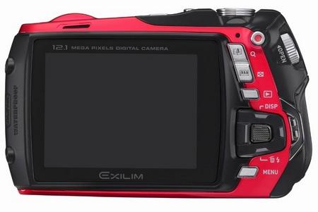 Casio EXILIM EX-G1 rugged camera back