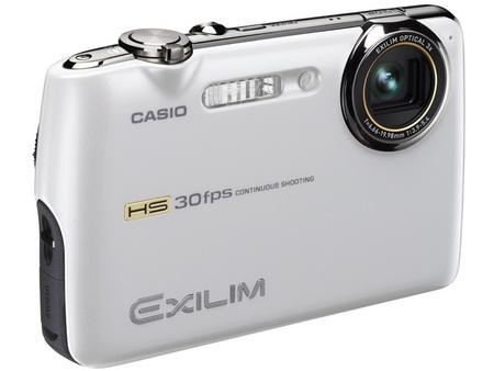 Casio Exilim EX-FS10S-WE Camera White