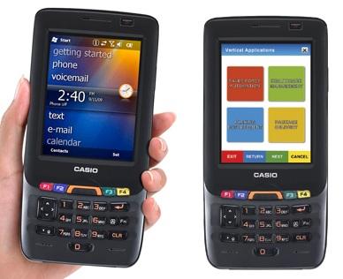 Casio IT-800 RGC-35 Rugged Industrial PDA