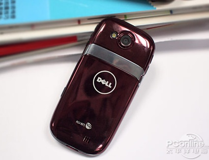 Dell Mini 3 Android Phone back