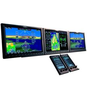 Garmin G3000 Integrated Flightdeck with touchscreen