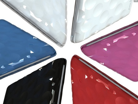 Hard Candy Cases Bubble Shell for netbook colors