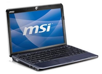 MSI Wind U230 Netbook with AMD Neo
