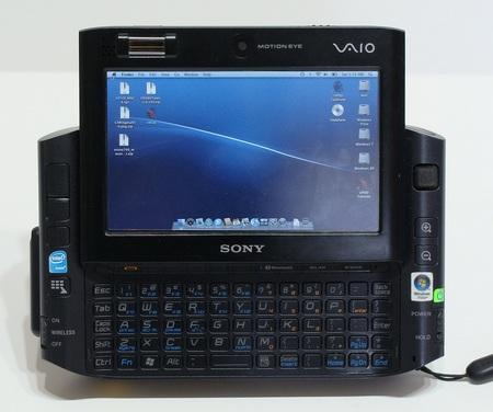 Modded Sony VAIO UX 3G Mac OSX