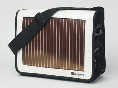 Neuber Energy Sun-Bag does solar charging