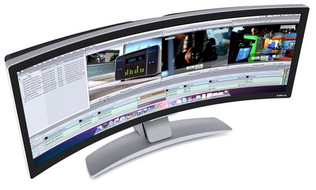 Ostrendo CRVD 43-inch Curved Display 1