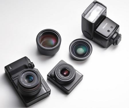 Ricoh GXR Camera System camera unit external flash