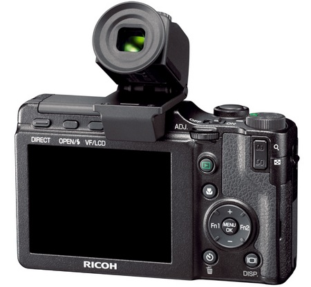 Ricoh GXR with VF-2 electronic viewfinder