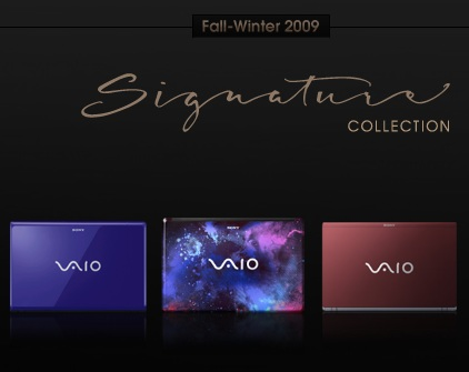 Sony VAIO Signature Collection Notebooks