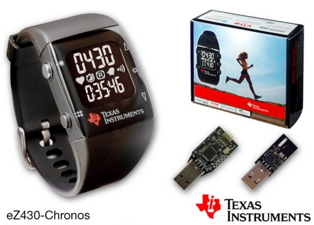 TI eZ430-Chronos - first customizable development environment within a sports watch