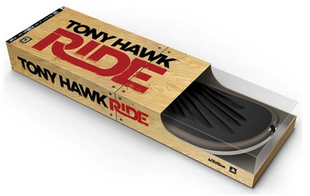 Tony Hawk RIDE and Skateboard Controller
