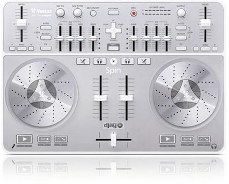 Vestax Spin USB Midi Audio DJ Controller