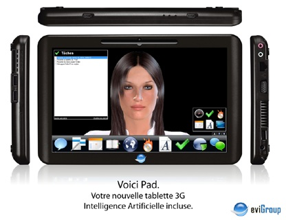eviGroup Voici Pad Specs