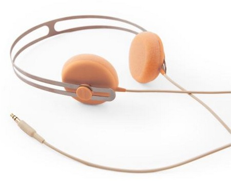 AIAIA Tracks series Headphones Peach 1
