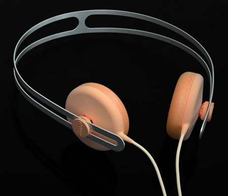 AIAIA Tracks series Headphones Peach