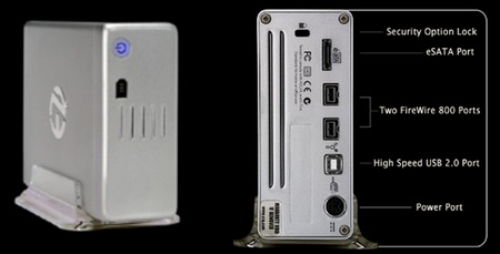 EZQuest Thunder Pro A/V Quad-Interface Hard Drive