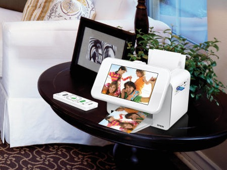 Epson PictureMate Show Two-in-One Digital Frame and Compact Photo Printer 1
