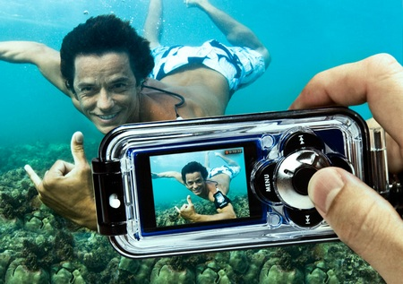 H2O Audio Capture Waterproof Case for iPod nano 5G