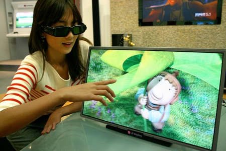 LG to launch Full HD 3D LCD Display