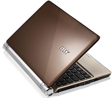 MSI Wind U160 Atom N450 Netbook