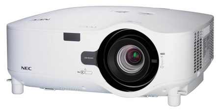 NEC NP2200 and NP1200 Professional Installation Projectors