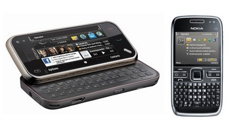 Nokia N97 Mini and Nokia E72