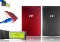 PQI H566 and S533 USB 3.0 Portable Drives