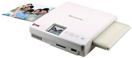 Pandigital ZINK Portable Photo Printer 1