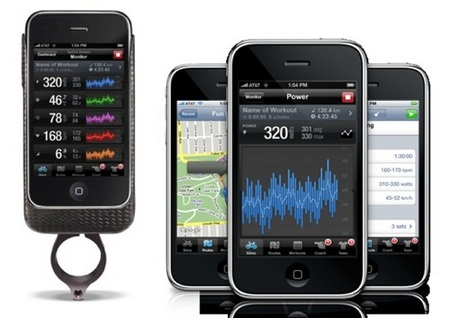 Pedal Brain iPhone Accessory and App for Cyclists