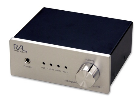 RatocSystem RAL-2496UT1 External Sound Card also a Headphone Amp