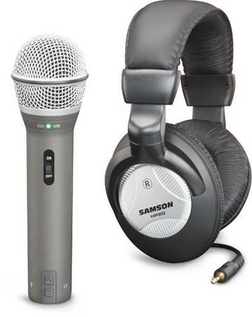 Samson Q2U USB XLR Microphone Recording Pak