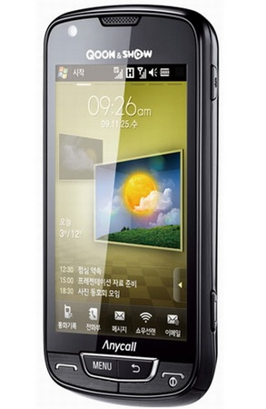 Samsung SPH-M8400 Touchscreen Phone gets WiBro, WiFi and WCDMA
