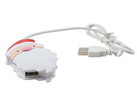 Santa Claus USB Hub