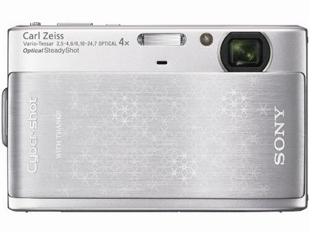Sony Cyber-shot DSC-TX1 Snowflakes Silver