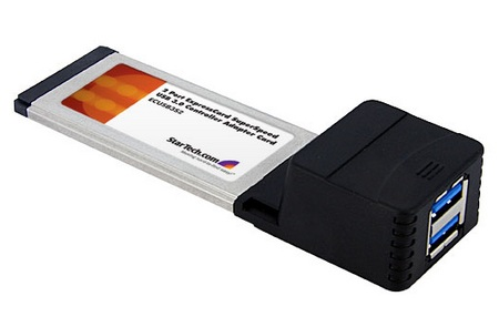 StarTech ExpressCard SuperSpeed USB 3.0 Card Adapter