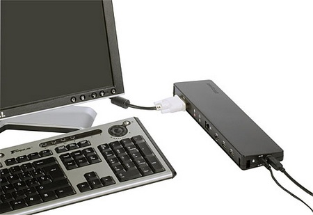 Targus ACP51USZ Notebook Docking Station with Video